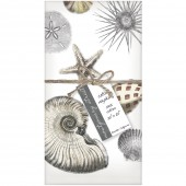 Scattered Seashells Set of 4 Napkins