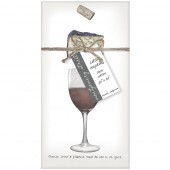 Wine And Cheese Napkins