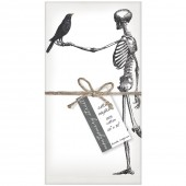 Skeleton Crow Napkins