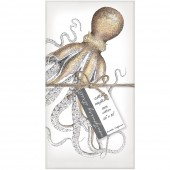 Octopus Set of 4 Napkins