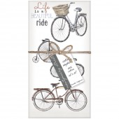 Bike Collage Napkins S/4
