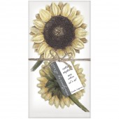 Two Sunflowers Napkins S/4