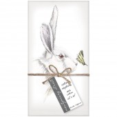 White Rabbit Napkins S/4