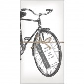 Beach Cruiser Set of 4 Napkins