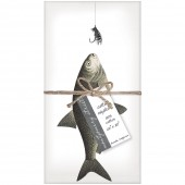 Fish Lure Napkins S/4