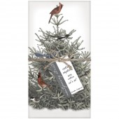 Pine Tree Birds Casual Napkins