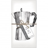 Coffee Pot Set of 4 Napkins