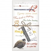 Twelve Days Napkins