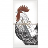 Rooster Set of 4 Napkins