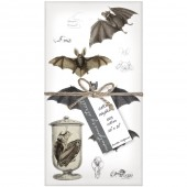 Bat Collage Napkins