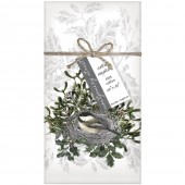 Chickadee Nest Napkins