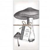Mushroom Set of 4 Napkins