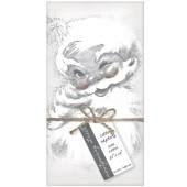 Winking Santa Set of 4 Napkins