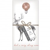 Reindeer Set of 4 Napkins