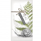 Snail And Fern Set of 4 Napkins