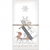 Sleigh Set of 4 Napkins