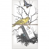 Bird Nest Set of 4 Napkins