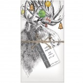 Holiday Moose Set of 4 Napkins