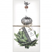 Artichoke Set of 4 Napkins