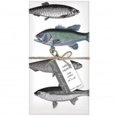 Fish Set of 4 Napkins