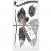 Feathers Set of 4 Napkins