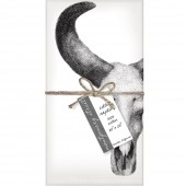 Cow Skull Set of 4 Napkins