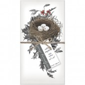 Holly Nest Set of 4 Napkins