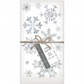 Snowflakes Set of 4 Napkins