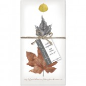Leaves Set of 4 Napkins