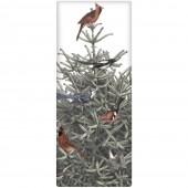 Pine Tree Birds Soap Bar