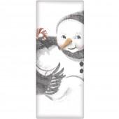 Snowman Soap Bar