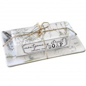 Herbs Orchid Soap Dish