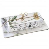 Dandelion Orchid Soap Dish