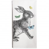 Rabbit & Butterflies Towel