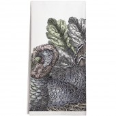 Turkey Leaves Towel