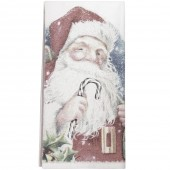 Santa Candy Cane Towel