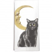 Cat Moon Towel