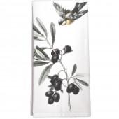 Black Olives Towel