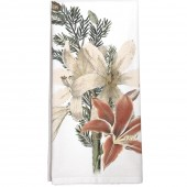 Amaryllis White Towel