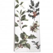 Scattered Holly Towel