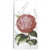 Camellia Towel-Dark Pink