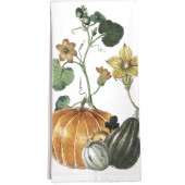 Pumpkin Vine Towel