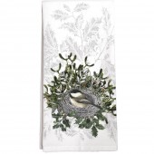 Chickadee Nest Towel