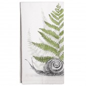 Snail And Fern Towel
