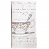 Antique Teacup Towel