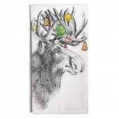 Holiday Moose Towel