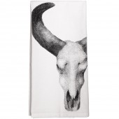 Cow Skull Towel