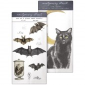 Bat Collage/Cat Moon Towel Set
