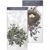 Chickadeenest/Nest Holly Towel Set