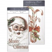 Jolly Santa/Candy Cane Bunch Towel Set